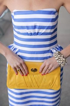 love the brightness and preppiness of this outfit
