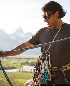 Jimmy Chin - Revo Ambassador in Jackson Hole, Wyoming
