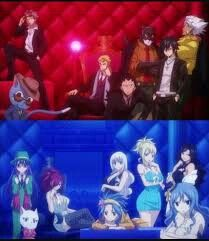 The guys and the girls of fairy tail