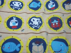 AIO or Regular One Size Cloth Diaper-Pirate Life For Me  by Los Chiquitos by loschiquitos on Etsy