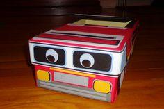 truck valentines box