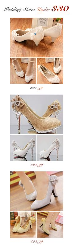 Wedding Shoes Under $30, find your perfect pair today #weddingshoes