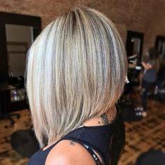 Best Bob Haircuts, Inverted Bob Hairstyles, Blonde Bob Hairstyles, Bob Haircuts For Women, Choppy Bob Hairstyles, Angled Bob Haircuts, Casual Hairstyles, Medium Hairstyles, Messy Blonde Bob