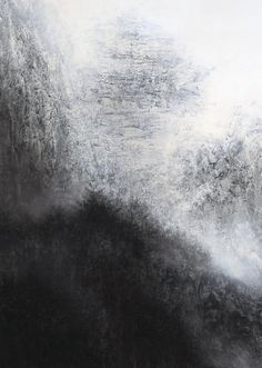 Established in Sundaram Tagore Gallery is devoted to examining the exchange of ideas between Western and non-Western cultures. Japanese Art Modern, Japanese Artists, Modern Art, Contemporary Art, Abstract Landscape, Landscape Paintings, Abstract Art, Nature Paintings, Black And White Painting