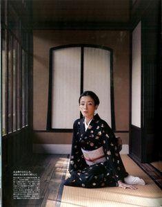 FIGARO kimono 宮沢りえ