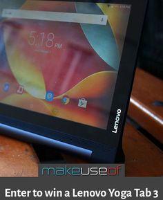 #giveaway - #Lenovo #Yoga Tab 3 #win #Tab3 ENDED