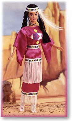 1995-Barbie Indiano D'America