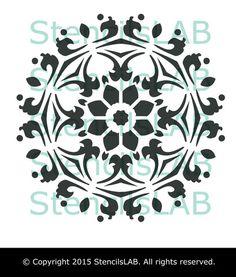 Decorative Mandala Stencil For Decor