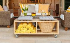 How to make a coffee table  - Better Homes and Gardens - Yahoo!7