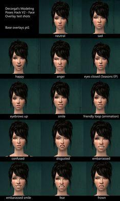 face overlay catalogue - Sim Haven