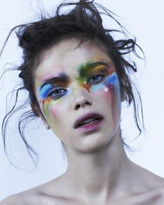 Image result for isamaya ffrench editorial geometric makeup