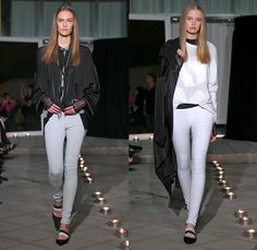 The Local Firm 2014 Spring Summer Runway Collection - Mercedes-Benz Fashion Week Stockholm Sweden Vår Sommar: Designer Denim Jeans Fashion: Season Collections, Runways, Lookbooks and Linesheets