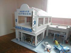 Garage Shell Agence Citroen Garage Moderne 1 43E | eBay