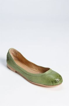 Frye ballet flats... I think we have a winner :)