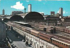 Stazione Centrale, Via Ferrante Aporti, anni 60   da Milàn l'era inscì