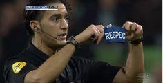 Dutch soccer referee Gözübüyük