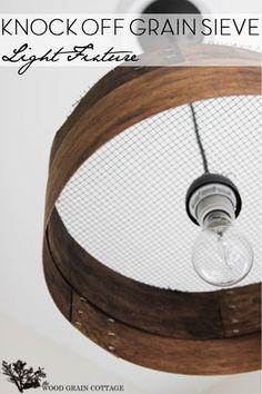 farmhouse-grain-sieve-light-pendant