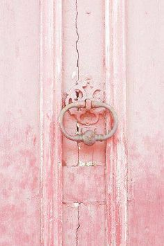 Pink Door, Provence, France by Mich Lancaster - design inspiration