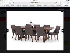 8x Truffle grey dining chairs