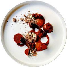 Chocolate Panna Cotta & Salty Caramel