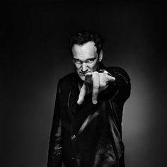 Quentin Tarantino by photographer Nicolas Guérin