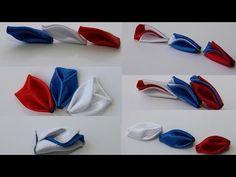 КАК СДЕЛАТЬ лепестки канзаши с перекрёстом/kanzashi petals with perekrestov (6 options) - YouTube