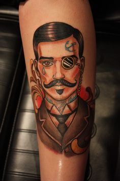 20 Dashing Gentlemen Tattoos To Make You Swoon!