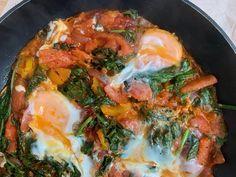 Shakshuka – Nadia's Healthy World Paella, Healthy Recipes, Healthy Food, Lunch, Ethnic Recipes, Seeds, Healthy Foods, Healthy Eating Facts, Lunches