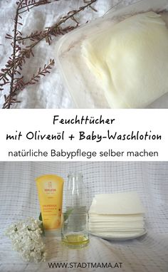 Of course, clean & care - 03 Baby - sanft und sauber - Baby Popo, Wet Wipe, Diy Cleaning Products, Homemade Beauty, Mom And Baby, Soap Making, Kids And Parenting, Food, Tricks