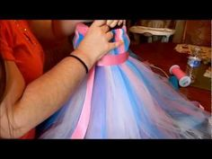 ▶ How To Make a Tutu Dress - YouTube