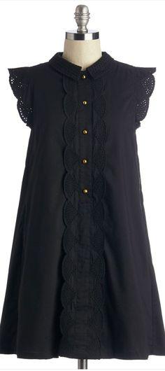 flutter sleeve swing dress