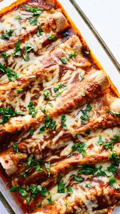 Everyone loves this veggie-packed enchiladas recipe! - http://cookieandkate.com