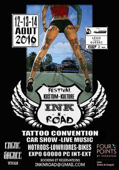 ink n Road Lévis 12 - 14 Août 2016 Lévis