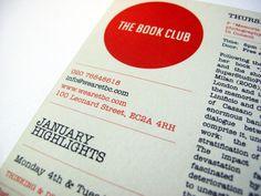 THE BOOK CLUB : Telegramme Studio