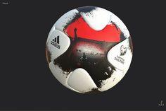 Euro 2018 qualifier official match ball PBR 3D Model .max .c4d .obj .3ds .fbx .lwo .stl @3DExport.com by djkorg