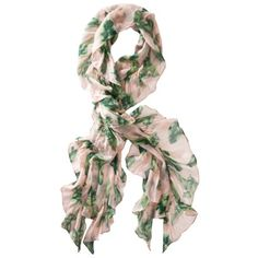Totally cute want for spring:      The Webster at Target® Flamingo Ruffle Scarf.Opens in a new window