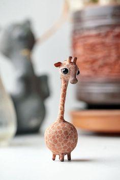 Giraffe by da-bu-di-bu-da. ❣Julianne McPeters❣ no pin limits