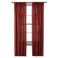 Royal Velvet® Britton Rod-Pocket Curtain Panel  found at @JCPenney