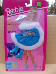 Vintage Mattel My First Barbie Fashions Ice Skater #12602 NRFB , 1994 Barbie Clothing Clothes  New in Package ,  Skating Barbie Doll Outfit by ShersBears on Etsy