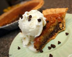 One of my all time favorite desserts (so easy). Tollhouse Pie Recipe - Rae Gun Ramblings