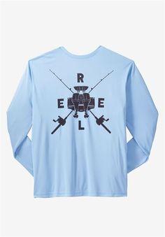 efb3932fd00 Big and Tall UV Runnin   Gunnin Tee by Reel Life®