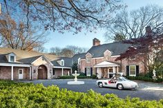 Georgian-style residence of Grammy Award winner Marc Anthony, Long Island, New York