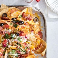 """Kickin' Buffalo Chicken Nachos 