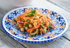 Marokkói sárgarépa-saláta