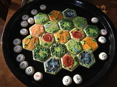 Settlers of Catan | Community Post: 25 Wonderfully Geeky Cookies