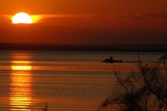 falcon lake sunset (falcon state park, Texas)