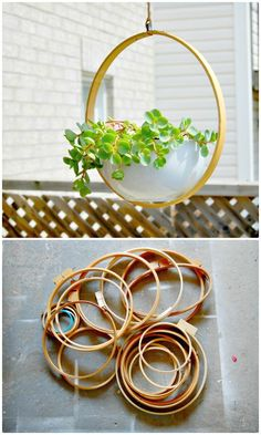 How To Build Garden Hanging Planter Tutorial - DIY Garden Projects - 101 DIY Ideas to Upgrade Your Garden - DIY & Crafts