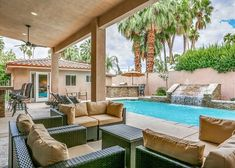 Now this looks like the perfect place to relax with friends and family in Palm Springs! 🌴☀️ This luxury 5 bath home with star appeal is oh-so-stylish and just 1 block from downtown. Check out more of it here: