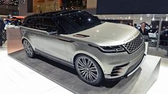 The Range Rover Velar is a high-end spin on Jaguar F-Pace underpinnings Range Rover Jeep, The New Range Rover, New Land Rover, Range Rover Sport, Range Rovers, My Dream Car, Dream Cars, Bronco Sports, Jaguar Land Rover