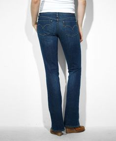 Modern Rise Demi Curve Bootcut Skinny Jeans Style #057060049 ...